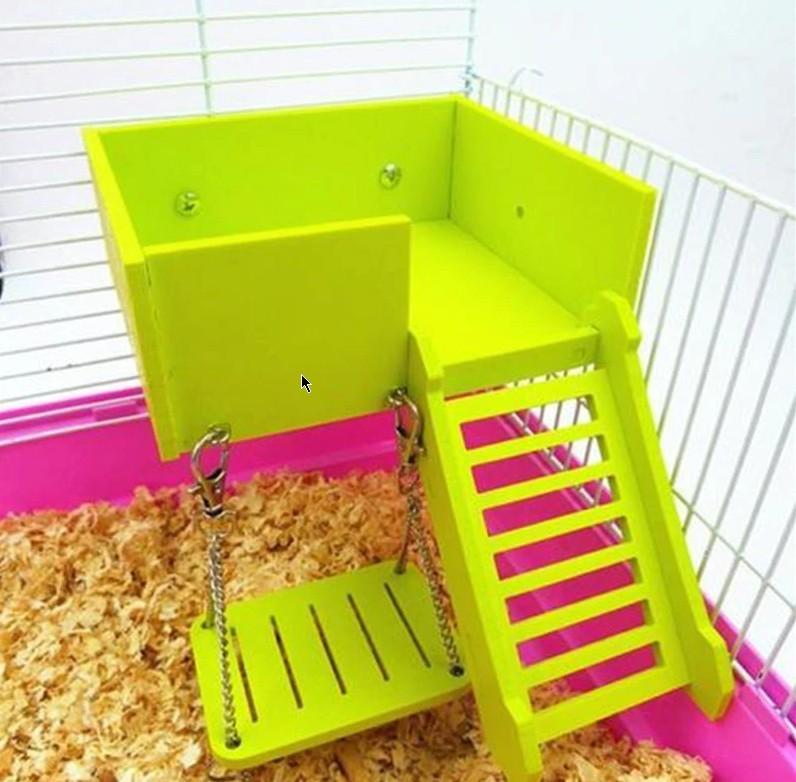 лестница с площадкой для хомяка