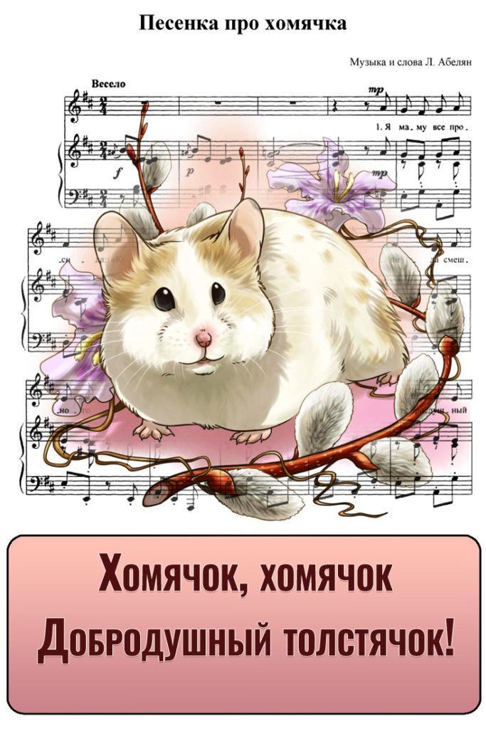 Детская песенка про хомячка